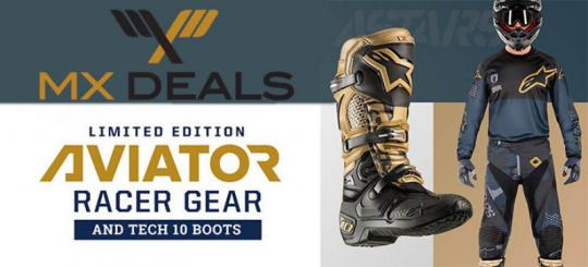 Alpinestars Limited Edition Aviator nu bij MX Deals leverbaar!