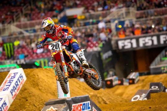 Broc Tickle Suspended By FIM