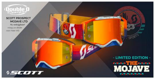 The Scott Mojave limited edition goggle