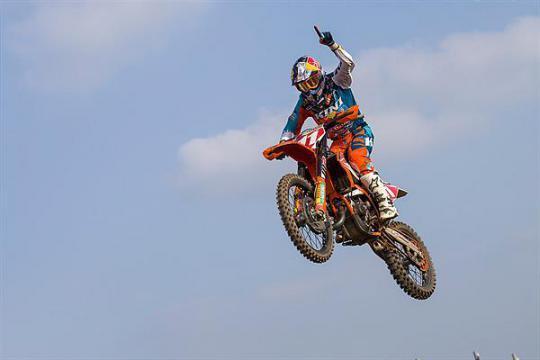 Hofer runner-up in Germany & increases EMX125 championship lead