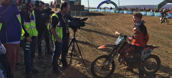 Nederlandse winnaar in de Weston Beach Race