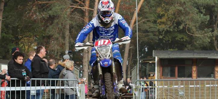Wesley Pittens wint ook het ONK Enduro in Harfsen