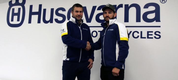 Elliott Banks Browne verlengt contract met het Geartec Husqvarna Motorcycles team