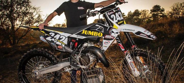 Kjell Verbruggen tekent contract met het Jumbo No Fear BT Motorsport team