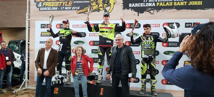 Nolan Cordens Prins van Barcelona, Josh Grant wint SX1