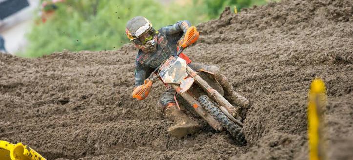 Cooper Webb pakt eerste 450 manchezege in een AMA Pro Motocross