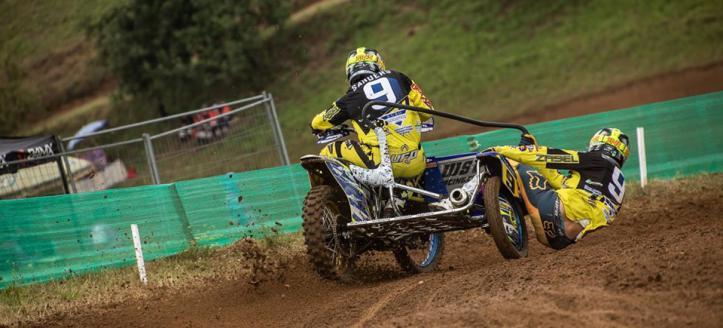 Sidecarteam Sanders vindt bakkenist voor GP Letland