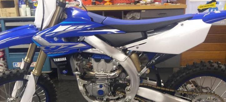 Yamaha YZF250 model 2020 nu bij Sigmans Tweewielers