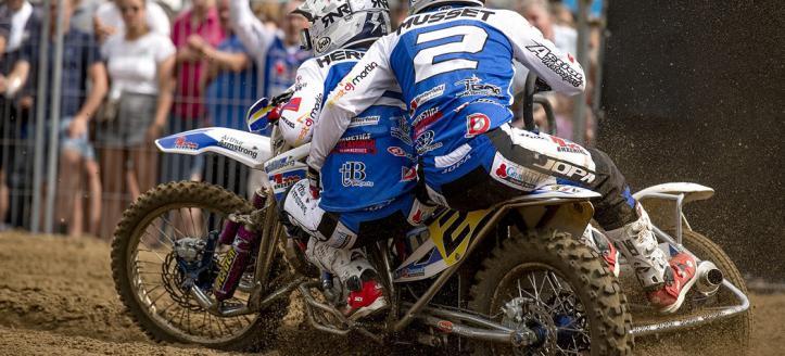 Hermans/Musset pakken de Dutch Sidecar Masters titel na thriller op de Zwarte Cross