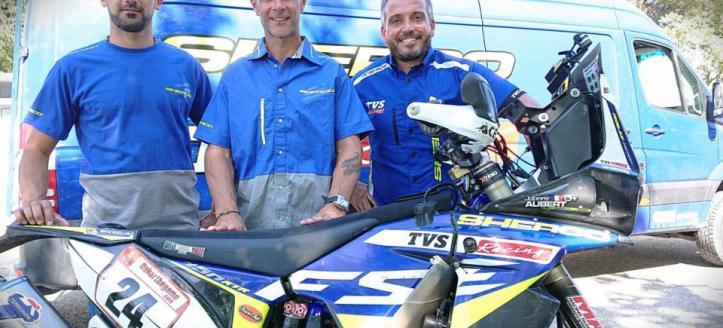 Johnny Aubert met Sherco naar Dakar Rally