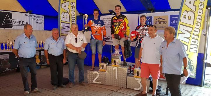 Jacky Tausch pakt podiumplaats in IMBA Open in Huldenberg, blessure voor Demyan van Loon