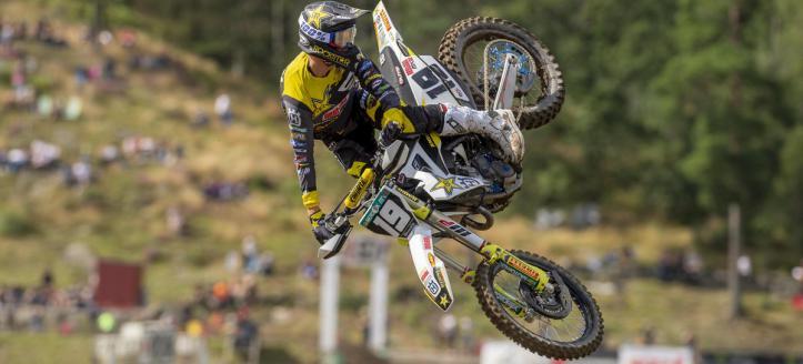 Thomas Kjer Olsen maakt het beste van moeilijke GP in Zweden