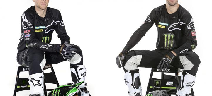 Monster Energy Kawasaki Racing Team vanaf 2020 verbonden met Alpinestars