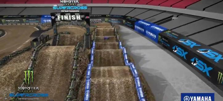 AMA Supercross Glendale - Het circuit