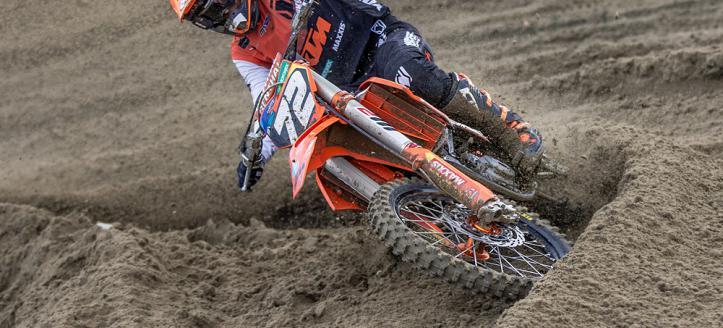 Liam Everts scoort achtste plaats algemeen in Internationale MX2 Race in Axel!