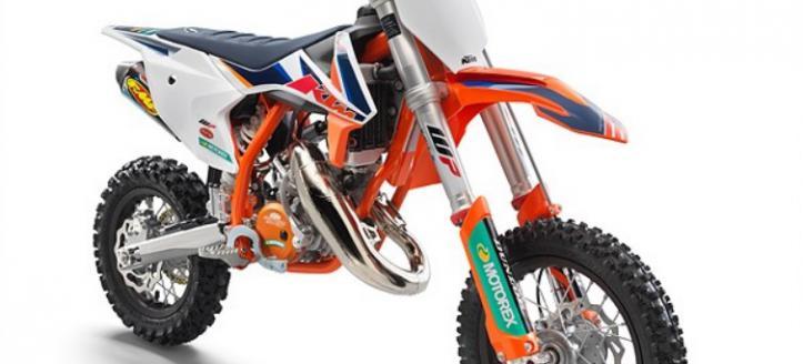 KTM ONTHULT KTM 50 SX FACTORY EDITION VOOR 2021