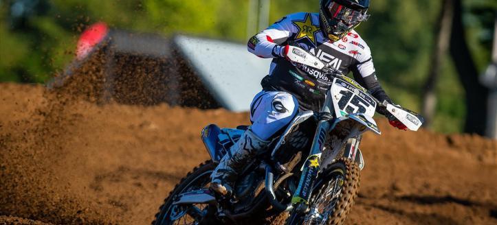 Dean Wilson uitgeschakeld voor de rest van het AMA Pro Motocross Kampioenschap