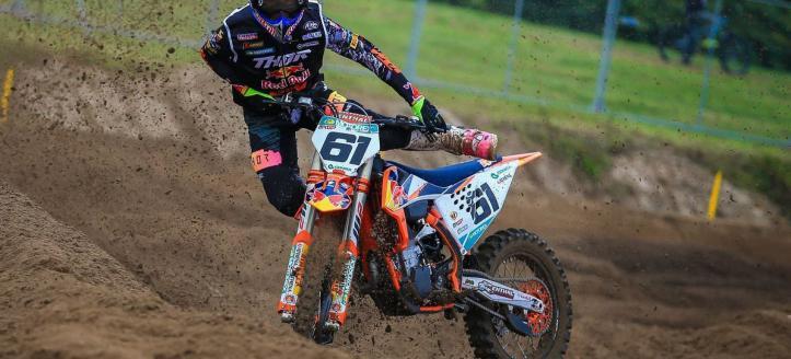 Zie de spectaculaire crash van Jorge Prado in Lommel
