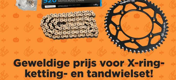 X-ring 520 ketting & tandwiel set voor een scherpe prijs bij 24MX!