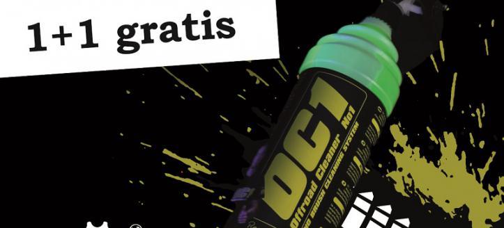Black Friday Week bij CleanMyBike - 1+1 Gratis OC1 1 liter!