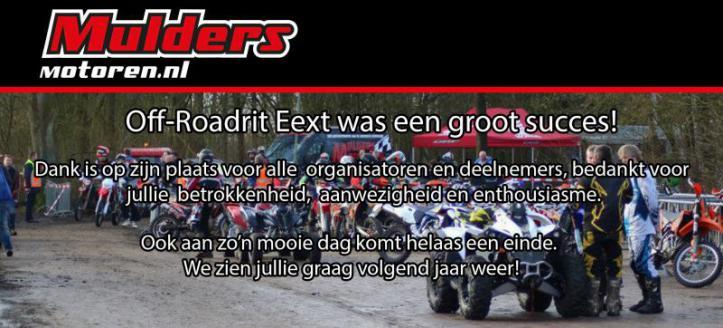 Mulders Motoren sponsor Off-Roadrit Eext