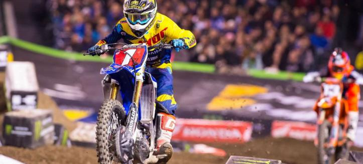 Watch qualifying of the AMA Supercross in San Diego live from 21H30