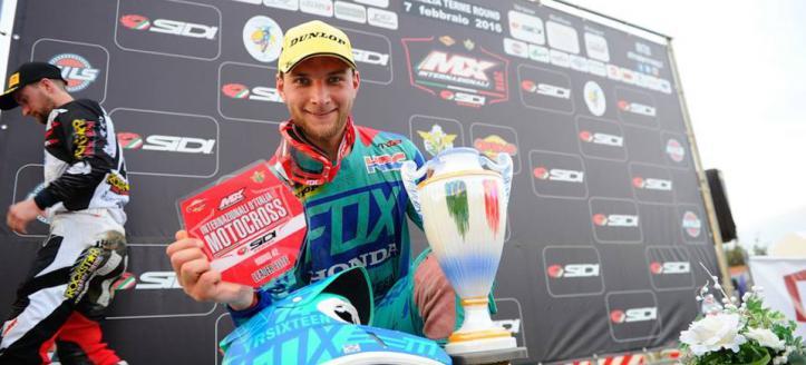 Ook Evgeny Bobryshev aan de start in Axel