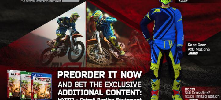 MXGP2 pre order DLC announced