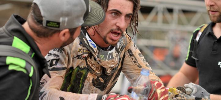 Double moto victory for Dylan Ferrandis in Loket