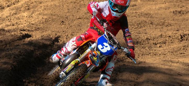 Ivano van Erp wins first moto EMX65 in Loket