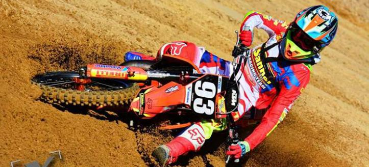 Jago Geerts wins first moto EMX125 in Lommel