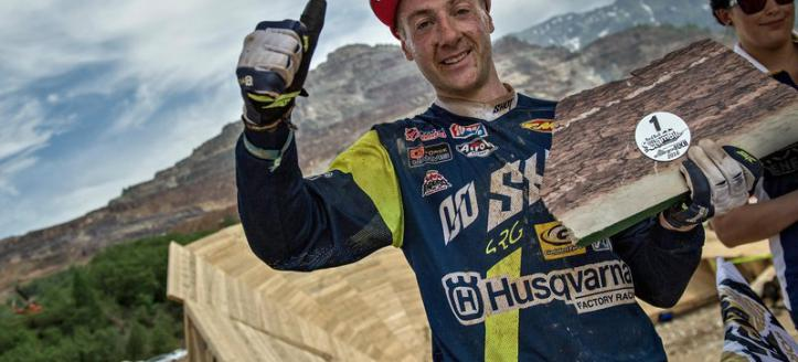 Graham Jarvis wins the 2016 Red Bull Hare Scramble