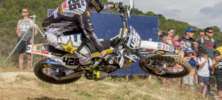 Max Anstie tenth in the Spanish MX2 Grand Prix