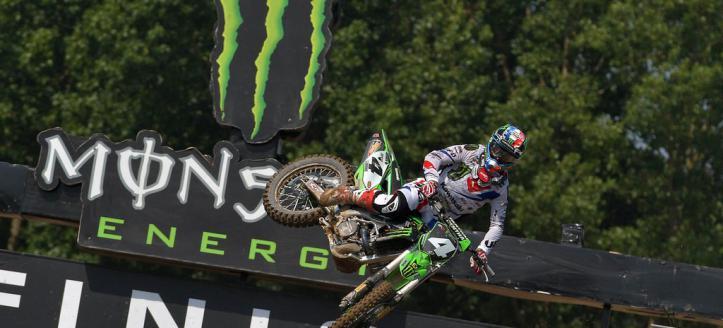 Dylan Ferrandis wins first MX2 moto in Loket
