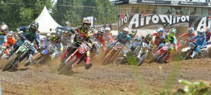 Watch the battle between Cairoli and Gajser in the second moto in Mantova
