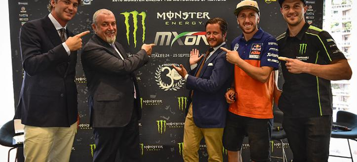 2016 Monster Energy FIM Motocross of Nations was presented in Milan