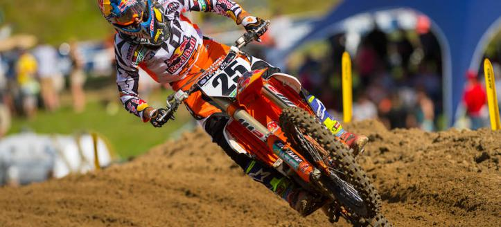 Watch the first motos of the Outdoor National in Washougal live from 22:00
