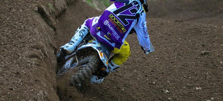 Max Nagl takes the win in first moto MXGP in Loket