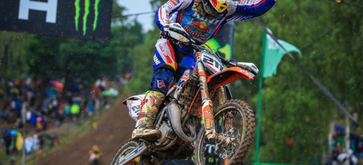 Rene Hofer clinches the European 85 title in Loket