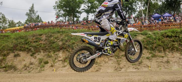 Max Anstie comes close of winning the Grand Prix in the Czech Republic