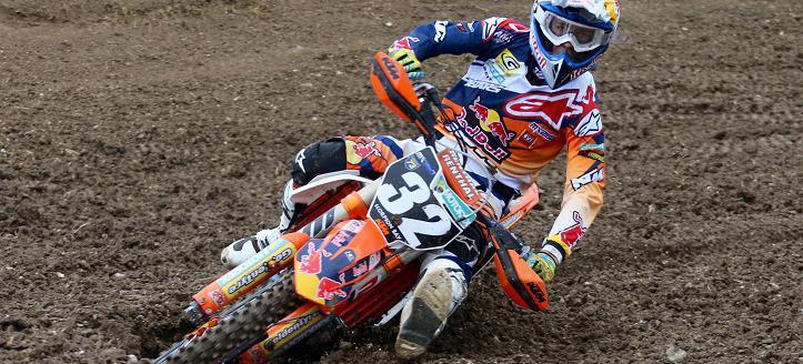 Jorge Prado makes his MX2 debut