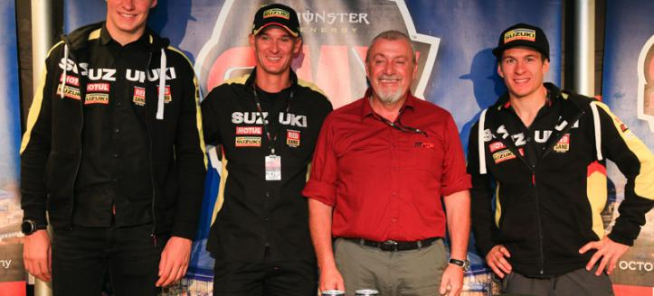 Seewer, Jasikonis & Weimer represent Suzuki at the Monster Energy SMX Riders' Cup