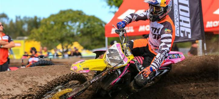 Waters & Suzuki win Australian MX series finale