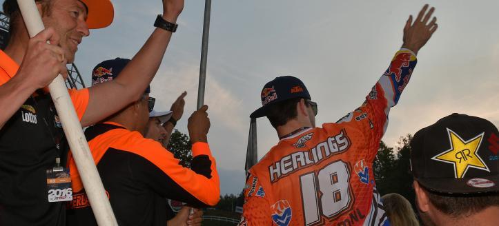 Historische 2e plek Team Nederland bij MXoN