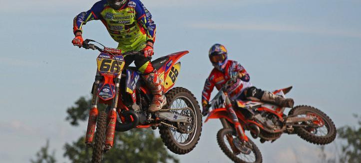 Danny Gerards 3e in Europees MX kampioenschap
