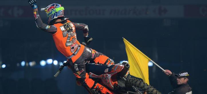 Movie: Marvin Musquin at the first night in Geneva