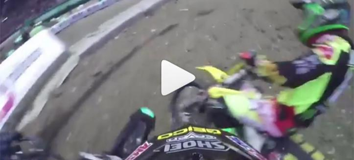 Movie: The blockpass battle between Barcia and Stewart in Geneve