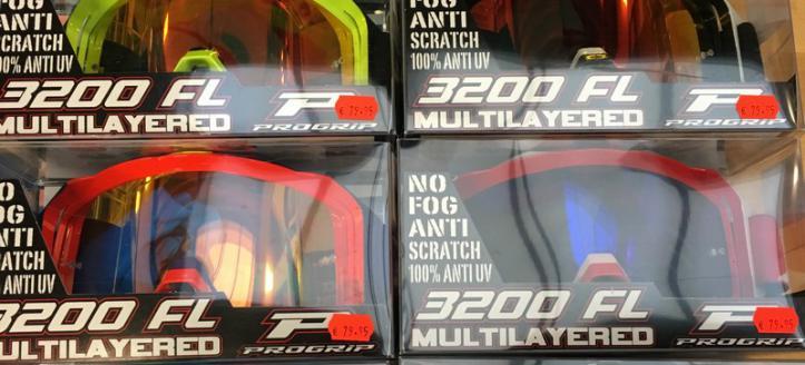 Nieuwe collectie Pro Grip brillen binnen bij Motorcross Aad