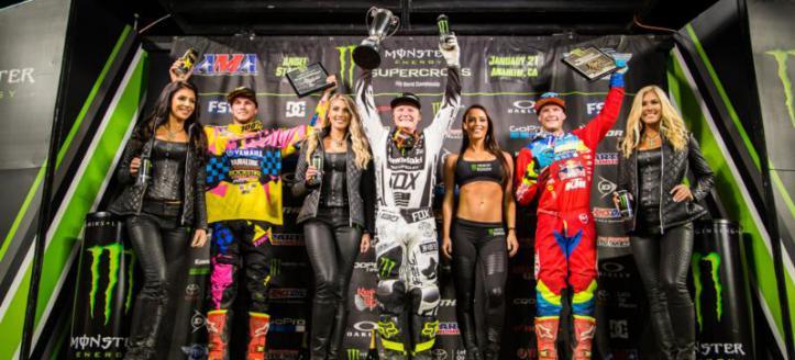 Full TV Coverage Lites AMA Supercross Anaheim 2