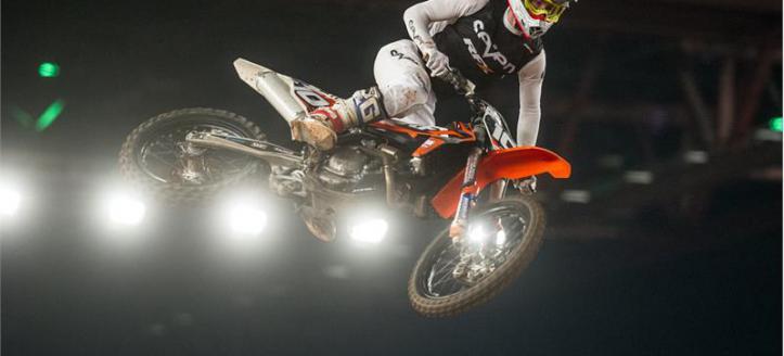 Irish mx champ gears up for Belfast Arenacross